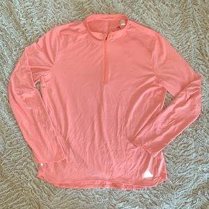 Adidas Peach Energy Running Half Zip Shirt